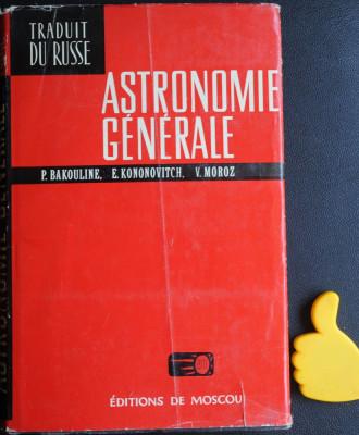 Astronomia generale Bakouline foto