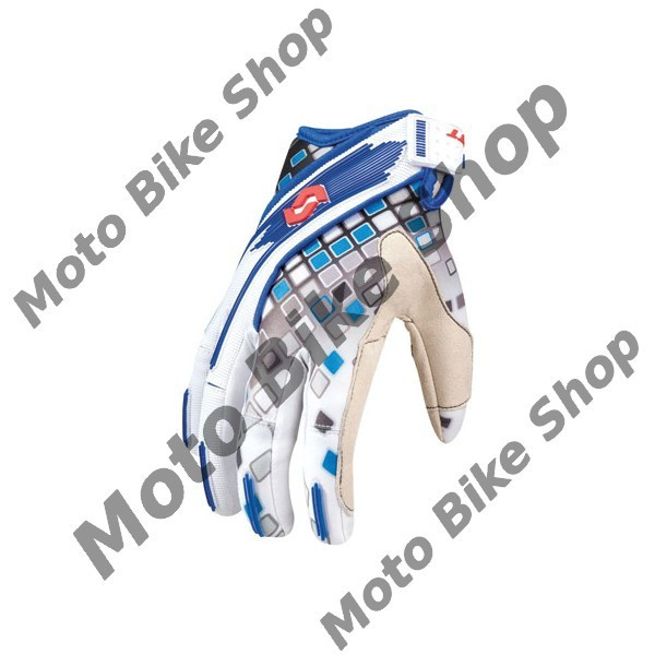 MBS Manusi motocross Scott 450 Mosiac,culoare rosu/albastru,marime M, Cod Produs: 2211831228007