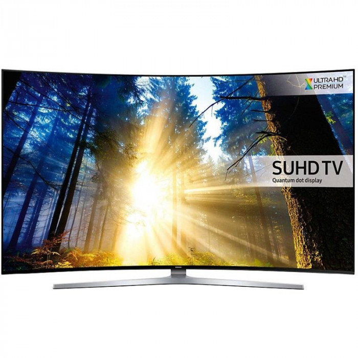 Televizor Samsung LED Smart TV Curbat UE65 KS9502 165cm Ultra HD 4K Silver