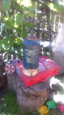 Veche Pompa de zugravit COOP Tehnometalica Bucuresti perioada comunista foto