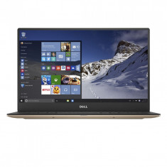 Ultrabook DELL 13.3'' New XPS 13 (9360), FHD InfinityEdge, Procesor Intel Core i5-7200U, 8GB, 256GB SSD, GMA HD 620, Win 10 Home, Rose Gold - Laptop Dell