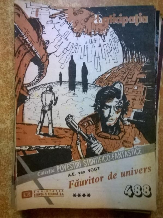 Colectia Povestiri Stiintifico-Fantastice nr. 488