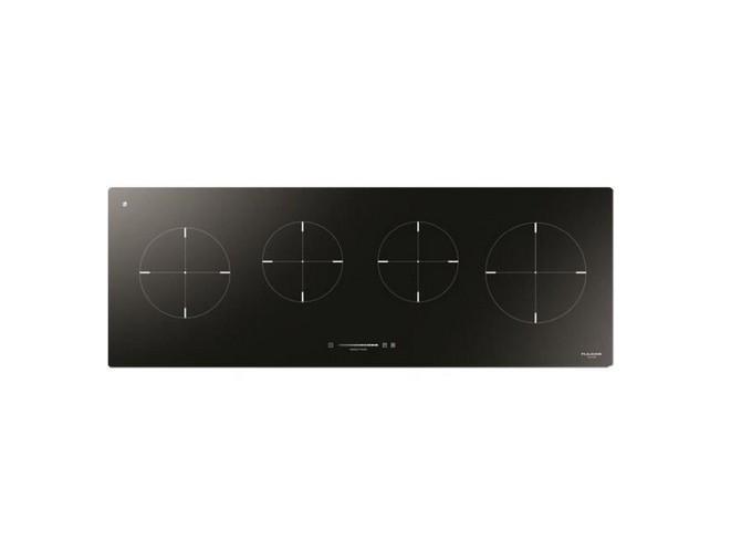 Plita incorporabila Fulgor Milano CH 1004 ID TS BK 100 cm inductie 4 zone gatit Sticla neagra foto mare