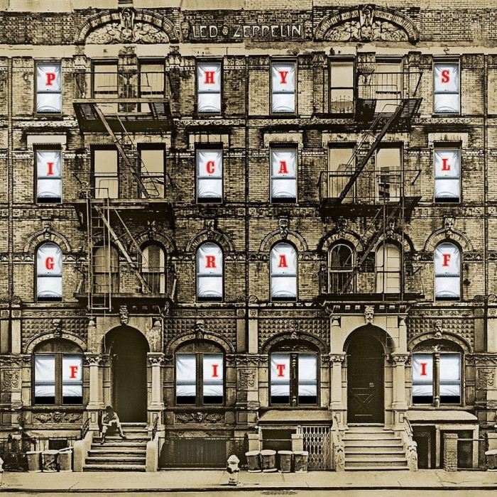 Led Zeppelin Physical Graffiti remastered 2015 (2cd) foto mare