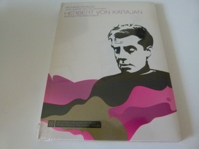 Richard Strauss - Karajan - dvd foto mare