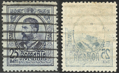 VARIETATE --ABKLATSCH--CAROL I--1908/1909 foto