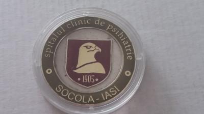 BREG - EFIGIE MEDICINA - SPITALUL CLINIC DE PSIHIATRIE 1905 - SOCOLA - IASI foto