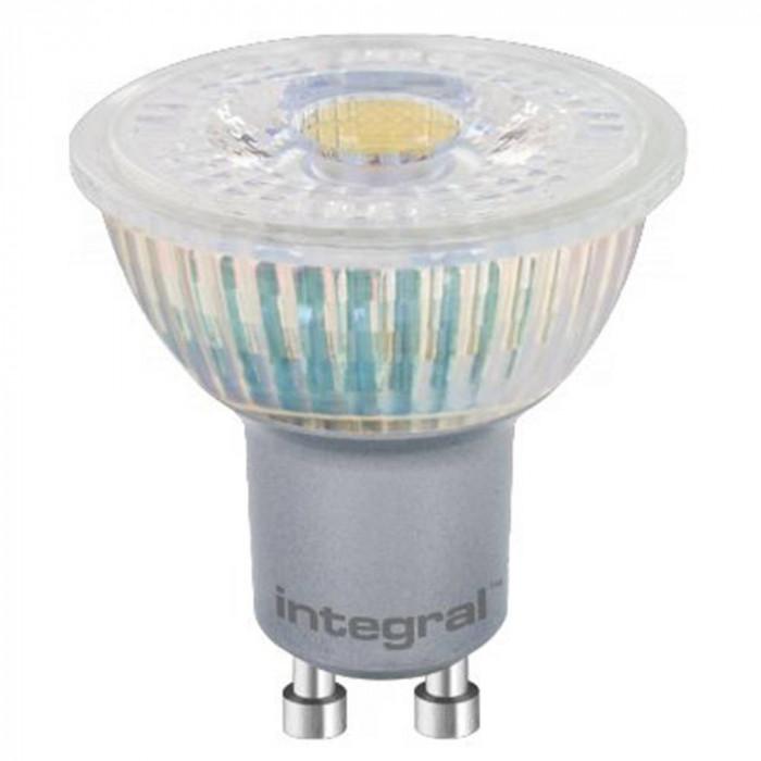 Bec LED Integral cu lumina calda foto mare