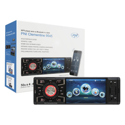 Aproape nou: MP5 player auto PNI Clementine 9545 1DIN display 4 inch, 50Wx4, Blueto foto