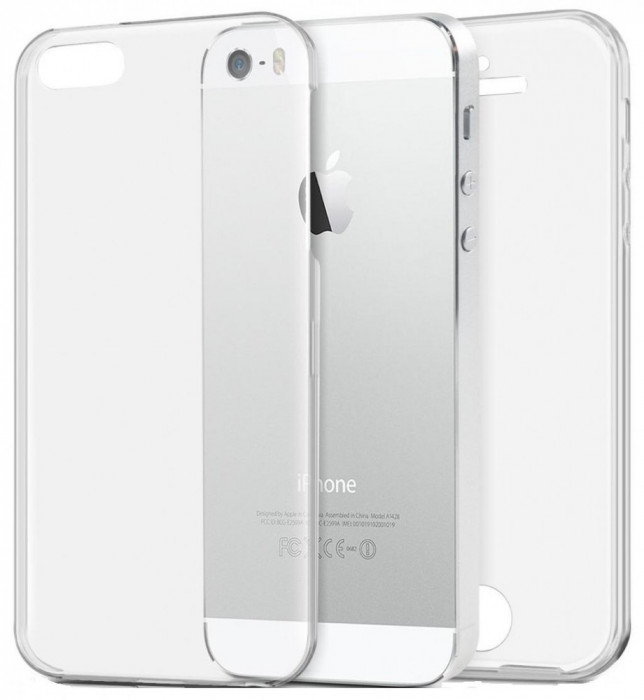 Husa Protectie Silicon Tpu 360 Grade Iphone 5
