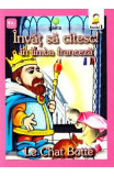 Invat sa citesc! In limba franceza - Motanul incaltat - Nivelul 1