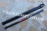Varga / Undita Carbon Black Panter 6.3 m Tronsoane Scurte 280 Grame + Husa Piele