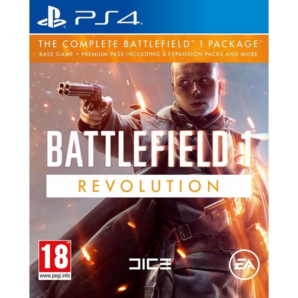 Battlefield 1 Revolution PS4 Xbox One foto mare
