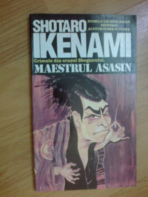 n7 Maestrul Asasin - Shotaro Ikenami foto
