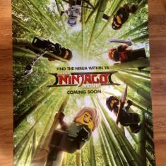Poster The LEGO Ninjago Movie 101.5 x 68.5 cm - Film Colectie, Alte tipuri suport, Altele