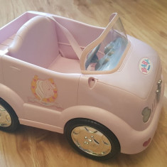Masinuta pentru papusi Baby Born - Papusa Zapf Creation, Plastic