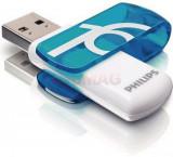 Stick USB Philips Vivid Edition FM16FD05B/10, 16GB, USB 2.0 (Albastru)