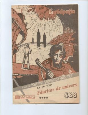 LOT == PATRU Reviste CPSF - Anticipatia  seria II - de colectie foto