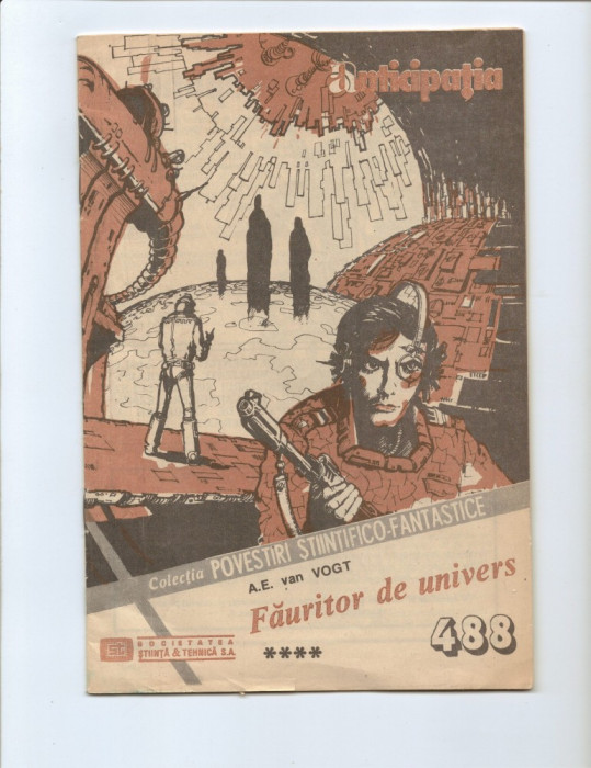 LOT == PATRU Reviste CPSF - Anticipatia  seria II - de colectie foto mare
