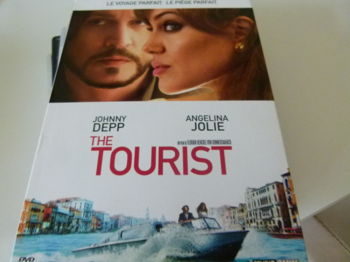 The Tourist - dvd foto mare