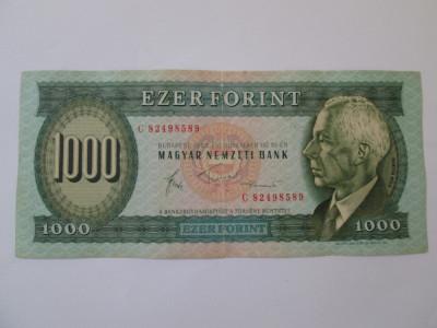 Ungaria 1000 Forint 1983 foto