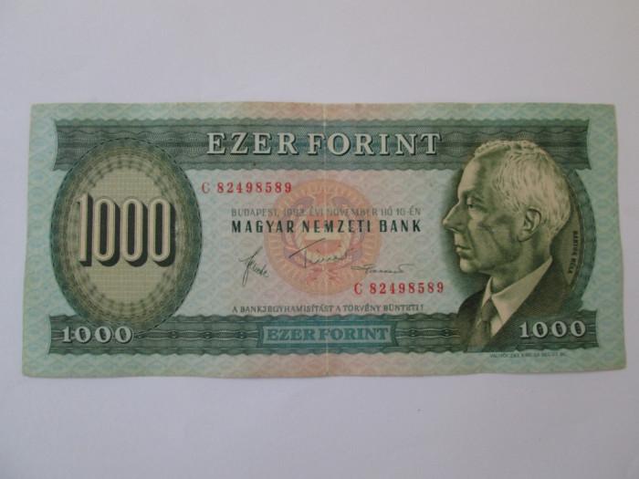 Ungaria 1000 Forint 1983 foto mare