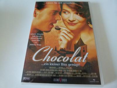 Chocolat - dvd foto