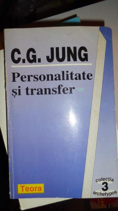 PERSONALITATE SI TRANSFER310PAGINI= JUNG
