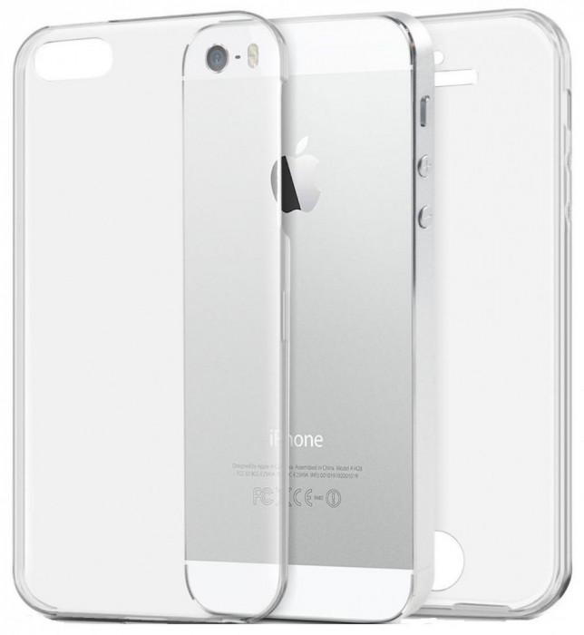 Husa Protectie Silicon Tpu 360 Grade Iphone 5 foto mare