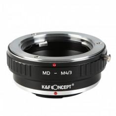 Kent Faith Canon MD-M4/3 adaptor montura Minolta MD-Micro 4/3 (MFT)