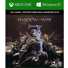 Middle-Earth Shadow Of War Full Game Download Code Xbox One - Jocuri Xbox One