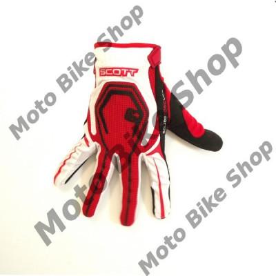 MBS Manusi motocross Scott San Diego,culoare rosu/alb,marime M, Cod Produs: 2117751005007 foto