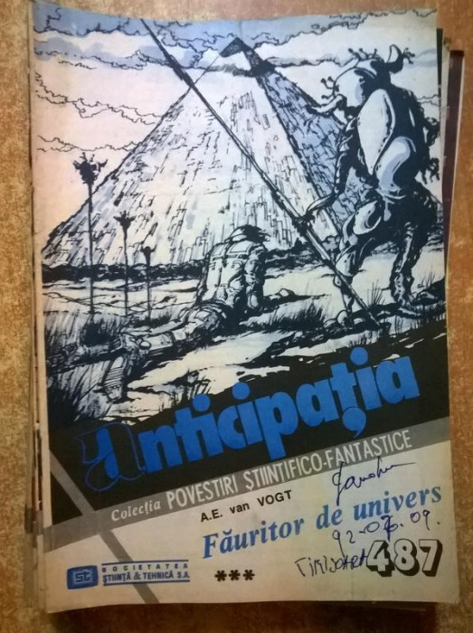 Colectia Povestiri Stiintifico-Fantastice nr. 487