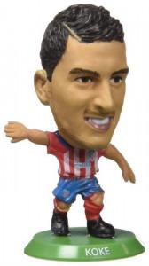 Figurina Soccerstarz Atletico Madrid Koke Home Kit
