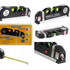 Nivela multifunctionala cu raza laser si ruleta incorporata - Ruleta masura
