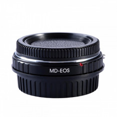 Kent Faith MD-EOS adaptor montura cu sticla optica de la Minolta MD MC la Canon EOS