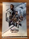 Poster Black Panther - Pantera neagră 98 x 68 cm, Alte tipuri suport, Altele