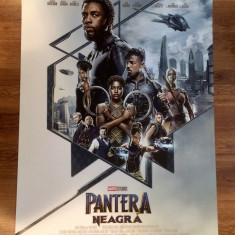 Poster Black Panther - Pantera neagră 98 x 68 cm - Film Colectie, Alte tipuri suport, Altele