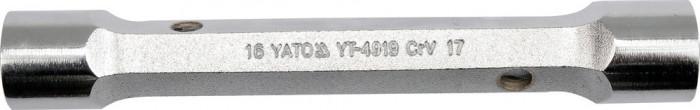 Cheie pentru tevi 21x23 mm 185 mm CrV YATO foto mare