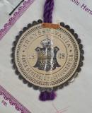 "Polita de asigurare - Sibiu - 1930 - Banca generala  "" Transsylvania 1868 """