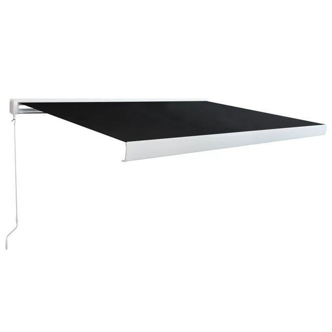 Copertina manuala tip caseta, 300 cm, antracit
