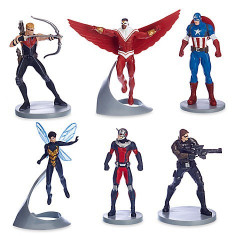 Set figurine Captain America - Avengers, Disney