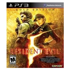 Resident Evil 5 Gold Edition  -  PS3 [Second hand], Actiune, 18+, Multiplayer