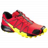 Adidasi Barbati Salomon W Terenie Speedcross 4 381154, 41 1/3, 42, 42 2/3, 43 1/3, 44 2/3, 46, Rosu