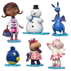 Set figurine Doctorita Plusica Disney Junior - Papusa