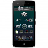 Telefon mobil Allview P5 Lite, Dual SIM, 8GB, 4G, Black