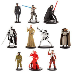 Set 10 figurine Deluxe Star Wars: The Last Jedi, Disney