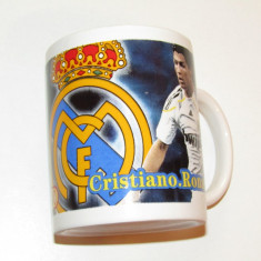 Cana suporter fotbal - REAL MADRID (Cristiano Ronaldo)
