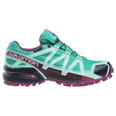 Adidasi Femei Salomon Speedcross 4 Gtx L39466700, 36 2/3, 40 2/3, Violet
