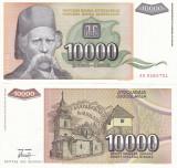 IUGOSLAVIA 10.000 dinara 1993 UNC!!!